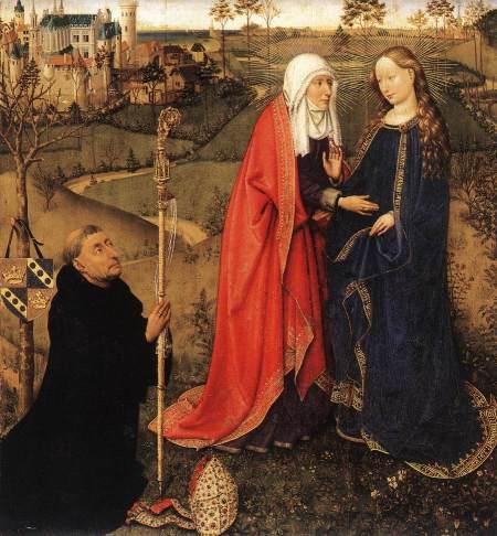 Altarpiece of the Virgin 1434-35